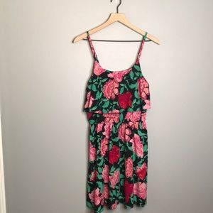 ELLE | spaghetti strap floral dress size Small NWT